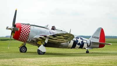 Photo ID 227559 by Dieter Linemann. Private Fighter Aviation Engineering Ltd Republic P 47D Thunderbolt, G THUN