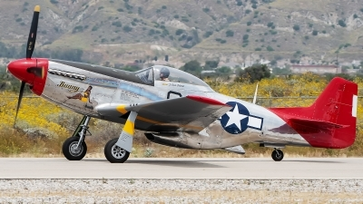 Photo ID 227556 by W.A.Kazior. Private Palm Springs Air Museum North American P 51D Mustang, N151BP