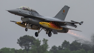 Photo ID 227994 by Filipe Barros. Belgium Air Force General Dynamics F 16BM Fighting Falcon, FB 15