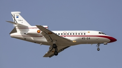 Photo ID 227616 by Redeemer Saliba. Spain Air Force Dassault Falcon 900B, T 18 4