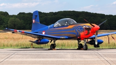 Photo ID 228000 by Carl Brent. Austria Air Force Pilatus PC 7 Turbo Trainer, 3H FC