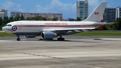 Photo ID 227635 by Hector Rivera - Puerto Rico Spotter. Canada Air Force Airbus CC 150 Polaris A310 304 F, 15003