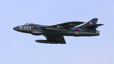 Photo ID 227664 by Frank Kloppenburg. Private DHHF Dutch Hawker Hunter Foundation Hawker Hunter F6A, G KAXF
