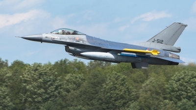 Photo ID 227651 by Hans Rödel. Netherlands Air Force General Dynamics F 16AM Fighting Falcon, J 512