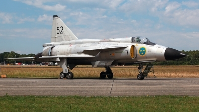 Photo ID 227670 by Carl Brent. Private Swedish Air Force Historic Flight Saab AJS37 Viggen, SE DXN