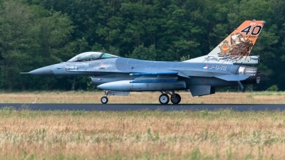 Photo ID 227755 by Hans Rödel. Netherlands Air Force General Dynamics F 16AM Fighting Falcon, J 642
