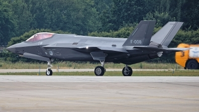 Photo ID 227752 by Rainer Mueller. Netherlands Air Force Lockheed Martin F 35A Lightning II, F 008