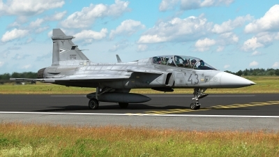 Photo ID 227813 by Carl Brent. Hungary Air Force Saab JAS 39 EBS HU D Gripen, 43