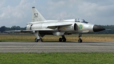 Photo ID 227913 by Rainer Mueller. Private Swedish Air Force Historic Flight Saab AJS37 Viggen, SE DXN