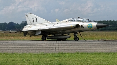 Photo ID 227914 by Rainer Mueller. Private Swedish Air Force Historic Flight Saab Sk35C Draken, SE DXP