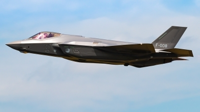 Photo ID 227989 by markus altmann. Netherlands Air Force Lockheed Martin F 35A Lightning II, F 008