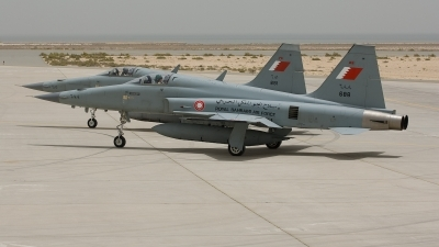 Photo ID 25956 by Frank Noort. Bahrain Air Force Northrop F 5E Tiger II, 688