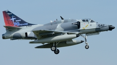 Photo ID 228163 by Klemens Hoevel. Company Owned Top Aces ATSI Douglas A 4N Skyhawk, C FGZT