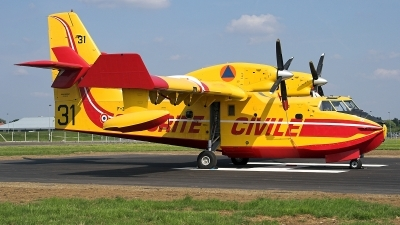 Photo ID 25989 by James Shelbourn. France Securite Civile Canadair CL 415, F ZBFP