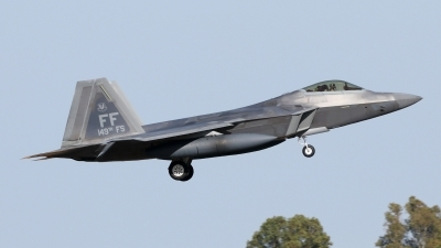 Photo ID 228240 by Manuel Fernandez. USA Air Force Lockheed Martin F 22A Raptor, 04 4082