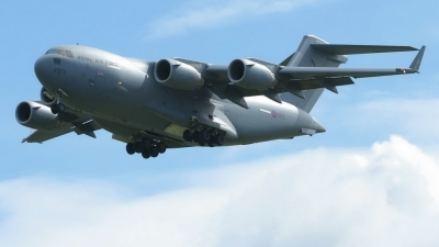 Photo ID 228276 by Sybille Petersen. UK Air Force Boeing C 17A Globemaster III, ZZ172