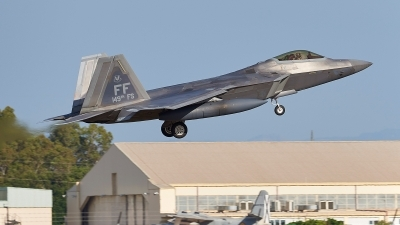 Photo ID 228277 by Salva Reyes. USA Air Force Lockheed Martin F 22A Raptor, 04 4082