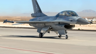 Photo ID 228281 by Rod Dermo. Netherlands Air Force General Dynamics F 16BM Fighting Falcon, J 065