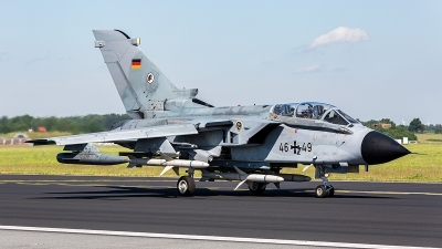 Photo ID 228393 by Jan Philipp. Germany Air Force Panavia Tornado ECR, 46 49