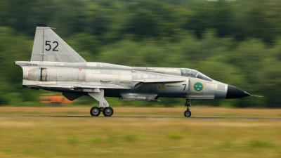 Photo ID 228438 by Rick van Engelen. Private Swedish Air Force Historic Flight Saab AJS37 Viggen, SE DXN