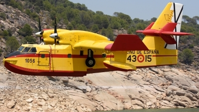 Photo ID 228496 by Alberto Gonzalez. Spain Air Force Canadair CL 215T, UD 13T 15