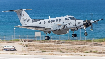Photo ID 229855 by Anthony Hershko. Israel Air Force Beech C 12A Huron Super King Air A200, 844