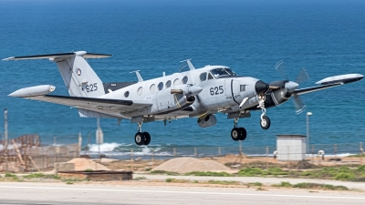 Photo ID 229858 by Anthony Hershko. Israel Air Force Beech C 12A Huron Super King Air A200, 625