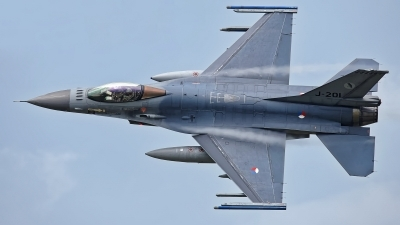 Photo ID 228641 by Rainer Mueller. Netherlands Air Force General Dynamics F 16AM Fighting Falcon, J 201