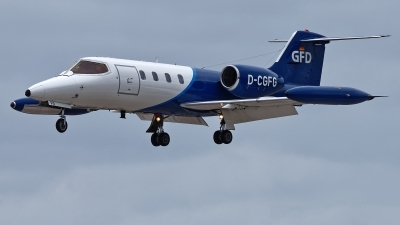 Photo ID 228649 by Rainer Mueller. Company Owned GFD Learjet 35A, D CGFG
