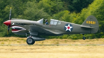 Photo ID 228721 by Aaron C. Rhodes. Private Erickson Aircraft Collection Curtiss P 40E Warhawk, N940AK