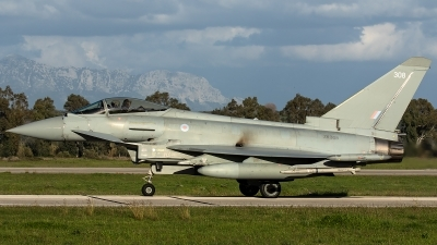 Photo ID 228801 by Thomas Ziegler - Aviation-Media. UK Air Force Eurofighter Typhoon FGR4, ZK308