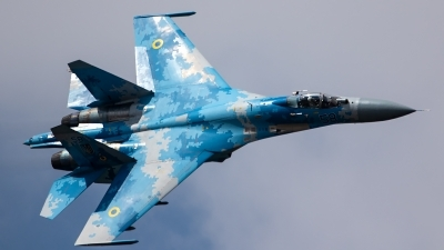Photo ID 228667 by Thomas Ziegler - Aviation-Media. Ukraine Air Force Sukhoi Su 27P1M,