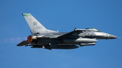 Photo ID 228661 by Thomas Ziegler - Aviation-Media. USA Air Force General Dynamics F 16C Fighting Falcon, 89 2023