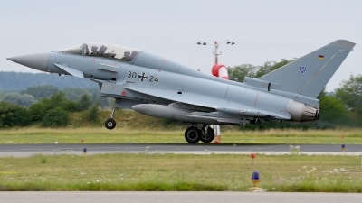 Photo ID 228698 by Günther Feniuk. Germany Air Force Eurofighter EF 2000 Typhoon T, 30 24