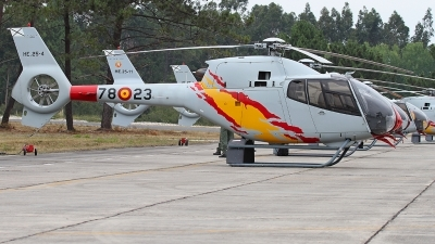Photo ID 228748 by Fernando Sousa. Spain Air Force Eurocopter EC 120B Colibri, HE 25 4