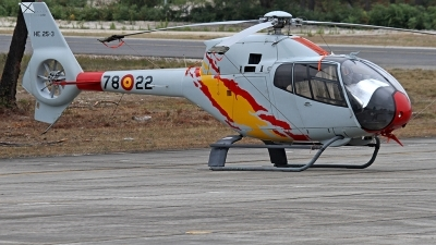 Photo ID 228743 by Fernando Sousa. Spain Air Force Eurocopter EC 120B Colibri, HE 25 3