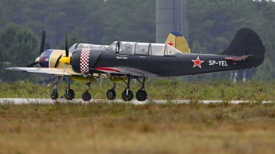 Photo ID 228815 by Fernando Sousa. Private Yakstars Yakovlev Yak 52 Bacau, SP YEL
