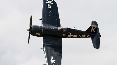 Photo ID 228723 by Aaron C. Rhodes. Private Erickson Aircraft Collection Vought F4U 7 Corsair, NX1337A