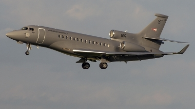 Photo ID 228737 by Alexandru Chirila. Hungary Air Force Dassault Falcon 7X, 21