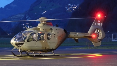 Photo ID 228798 by Ludwig Isch. Switzerland Air Force Eurocopter TH05 EC 635P2, T 360