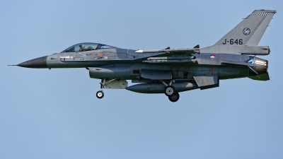 Photo ID 228823 by Rainer Mueller. Netherlands Air Force General Dynamics F 16AM Fighting Falcon, J 646