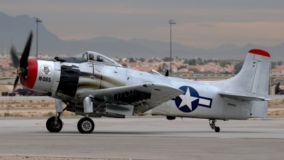 Photo ID 228804 by Rod Dermo. Private Heritage Flight Museum Douglas A 1D Skyraider AD 4N, NX965AD