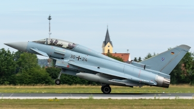 Photo ID 228925 by Thomas Ziegler - Aviation-Media. Germany Air Force Eurofighter EF 2000 Typhoon T, 30 24