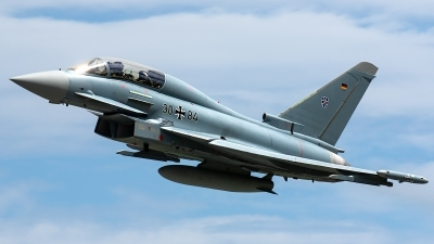 Photo ID 228930 by Thomas Ziegler - Aviation-Media. Germany Air Force Eurofighter EF 2000 Typhoon T, 30 84