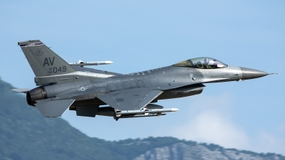 Photo ID 228964 by Thomas Ziegler - Aviation-Media. USA Air Force General Dynamics F 16C Fighting Falcon, 89 2049