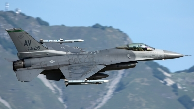 Photo ID 228962 by Thomas Ziegler - Aviation-Media. USA Air Force General Dynamics F 16C Fighting Falcon, 88 0526