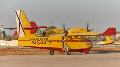 Photo ID 229025 by Salva Reyes. Spain Air Force Canadair CL 415, UD 14 03