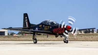 Photo ID 229037 by Ray Biagio Pace. UK Air Force Short Tucano T1, ZF244