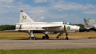 Photo ID 229049 by markus altmann. Private Swedish Air Force Historic Flight Saab AJS37 Viggen, SE DXN