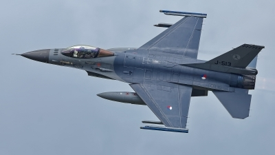 Photo ID 229070 by Rainer Mueller. Netherlands Air Force General Dynamics F 16AM Fighting Falcon, J 513